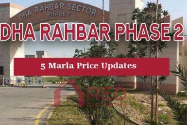 DHA Rahbar Phase 2 price Updates