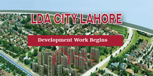 Development Work has Begins in LDA City Phase1 Lahore