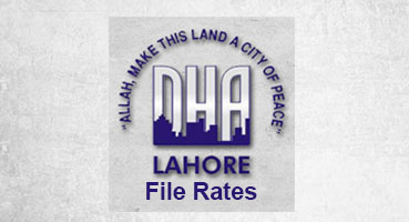 DHA File Rates