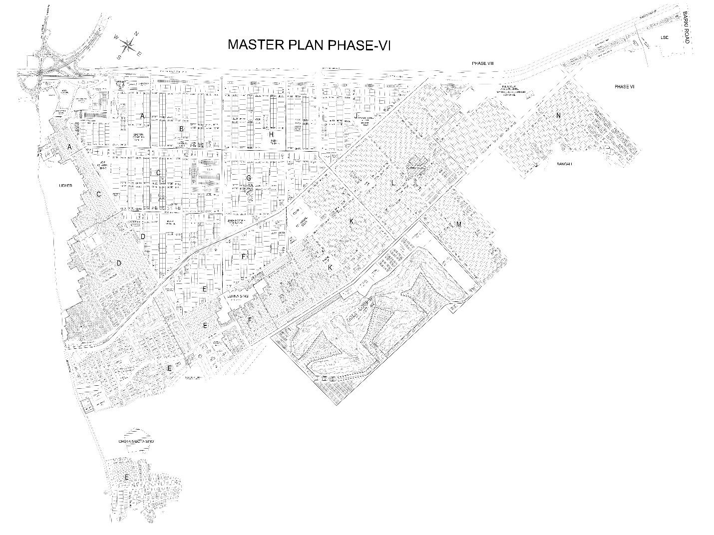 DHA Phase 6 Master Plan