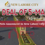 5 Marla Plots Announced In New Lahore City - Excellent Opportunity For Investor