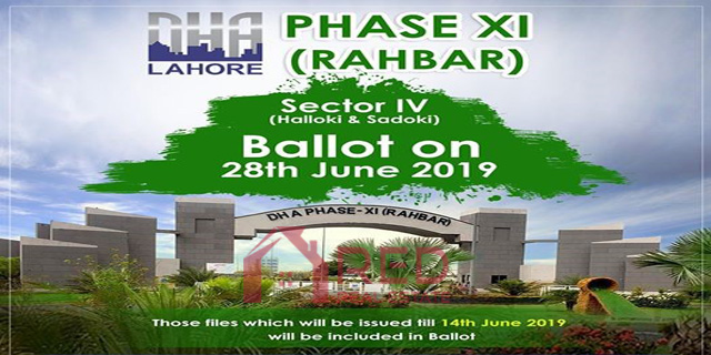 DHA Rahbar Phase 11 Sector 4 Balloting Date Announced