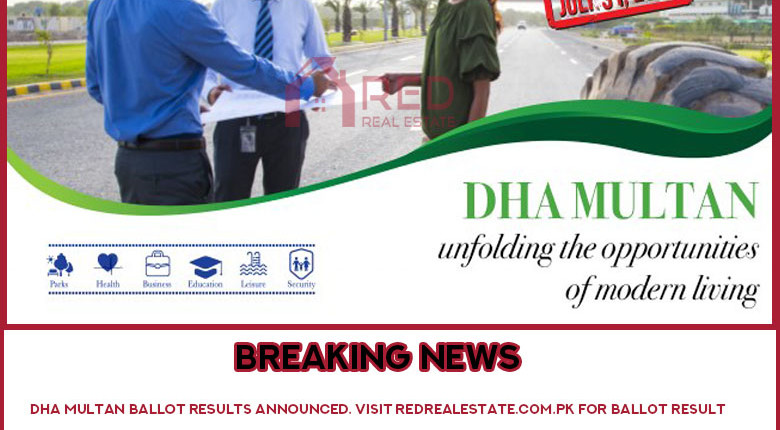DHA Multan Phase 1 Ballot Results 2019 | Check Online