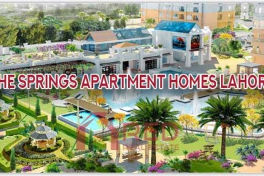 The Springs Apartment Homes Lahore
