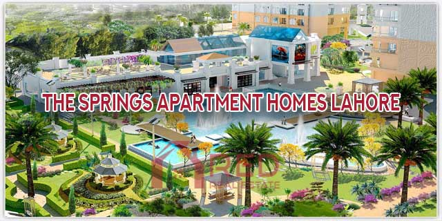 The Springs Apartment Homes Lahore Location Map | Payment Plan