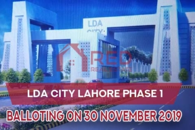 LDA City Lahore Balloting Date 2019