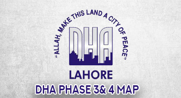 DHA Phase 3 & 4 Map