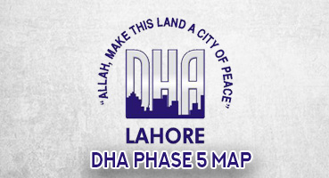 DHA Phase 5 Map