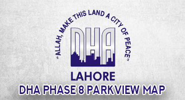DHA Phase 8 ParkView Map