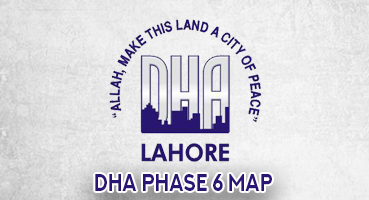 DHA Phase 6 Map