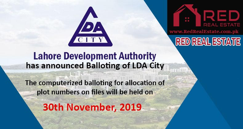 LDA City Lahore Balloting Result 2019 | How to Check Online
