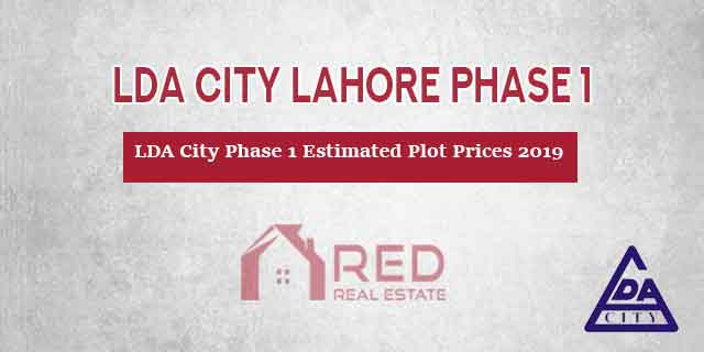 LDA City Lahore Phase 1 Estimated Plot Prices 2019 – Location Map