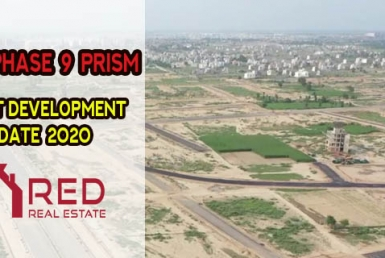 DHA Phase 9 prism Latest Development Update June 2020