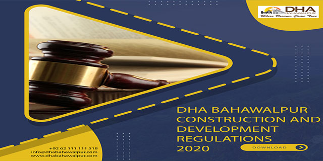 DHA Bahawalpur Home Construction Bylaws 2020