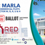 DHA Multan 2 Marla Commercial Plots With An Easy Installment Plan
