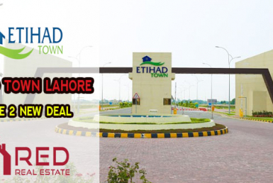 Etihad Town Lahore Phase 2 New Plot Bookings Announced on Installments | 2020