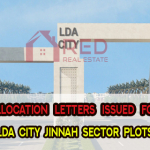 Allocation letter issued for LDA City Phase-I Jinnah Sector plot