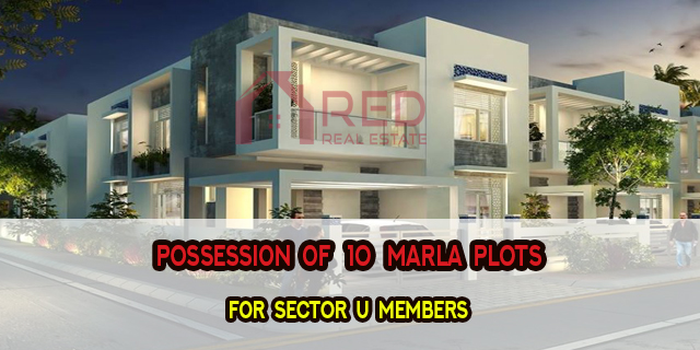 Possession of 10 Marla Plots in Sector U DHA Multan