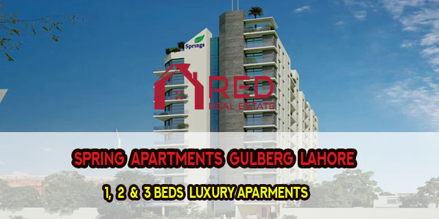 Spring Apartments Gulberg Lahore   Payment Plan   Location & Floor Plans