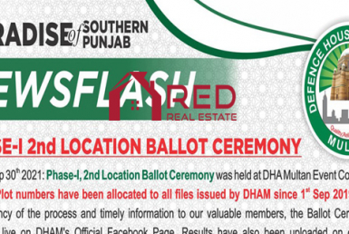 DHA Multan Phase-1 2nd Location Ballot Ceremony 30th September 2021